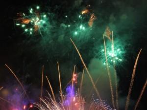 Feuerwerk (Foto: H.-J. Fünfstück)